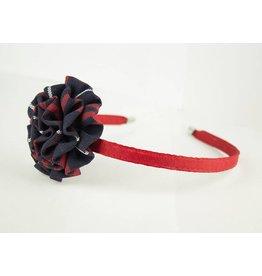 EE Dee Trim Hamilton Plaid #36 Rosette Headband #FBE13HB