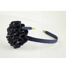 EE Dee Trim Melrose Plaid #6A Rosette Headband #FBE13HB