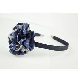 EE Dee Trim RR Plaid #76 Rosette Headband #FBE13HB