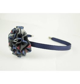 EE Dee Trim Windsor Plaid #31 Rosette Headband #FBE13HB