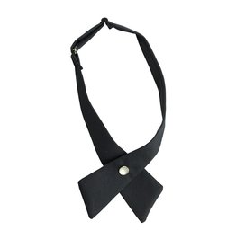 EE Dee Trim Navy Blue Girls Cross Tie #FBE43