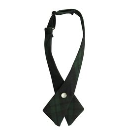 EE Dee Trim Blackwatch Plaid #79 Girls Cross Tie #FBE43
