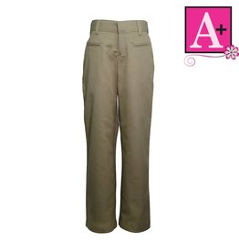 School Apparel A+ Khaki Mid-rise Pants #7102