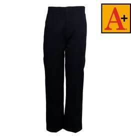 School Apparel A+ Navy Blue Pull-on Pants #7059Y