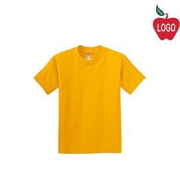 Hanes Gold Short Sleeve Tee #5450