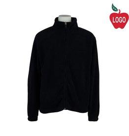 Elder Navy Blue Full Zip Microfleece Jacket #1001