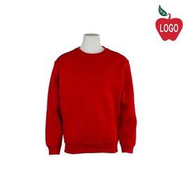 Russell Red Crew-neck Sweatshirt #9000