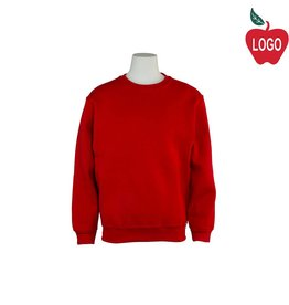 Russell Red Crew-neck Sweatshirt #998