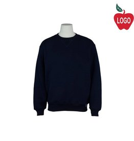 Russell Navy Blue Crew-neck Sweatshirt #998