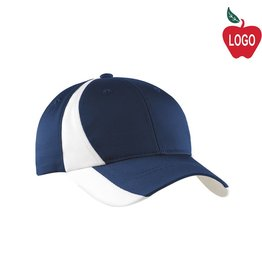 Sport-Tek Navy / White Baseball Cap #STC11