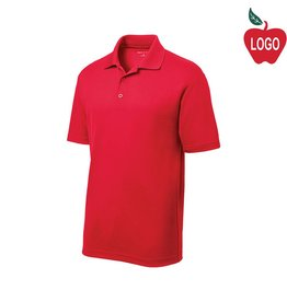 Sport-Tek Red Short Sleeve PosiCharge Polo #ST640