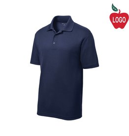 Sport-Tek Navy Blue Short Sleeve PosiCharge Polo #ST640