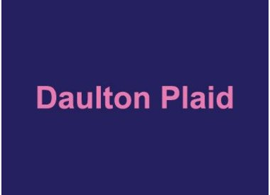 Daulton Plaid