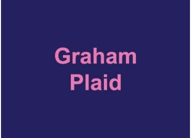 Graham Plaid