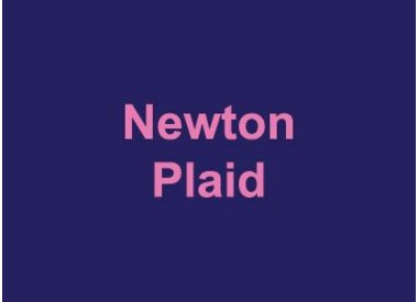 Newton Plaid