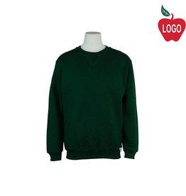 Russell Green Crew-neck Sweatshirt #998