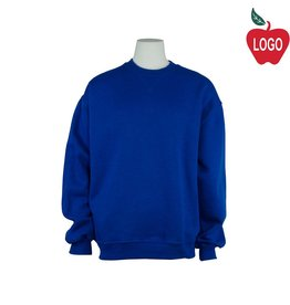 Soffe Royal Blue Crew-neck Sweatshirt #998