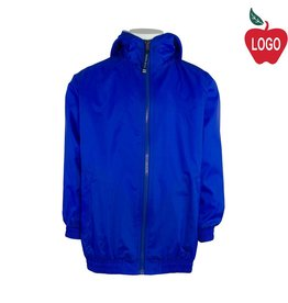 Charles River Royal Blue Hooded Nylon Jacket #8921
