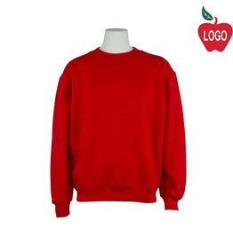 Soffe Red Crew-neck Sweatshirt #9000