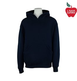 Soffe Navy Blue Hooded Pullover Sweatshirt #9289