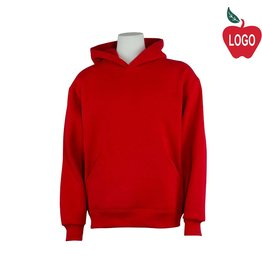 Soffe Red Hooded Pullover Sweatshirt #9289