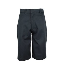 Rifle Charcoal Grey Plain Front Walk Shorts #IG