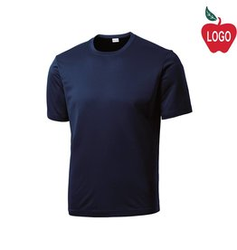 Port Authority Navy Blue Short Sleeve Tee #ST350