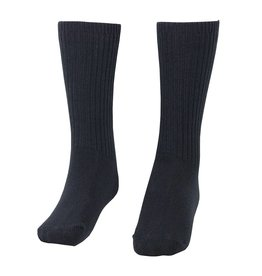 School Apparel A+ Navy Blue Cotton Crew Socks #65