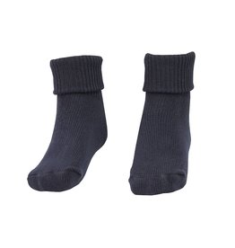 School Apparel A+ Navy Blue Triple Roll Socks #55