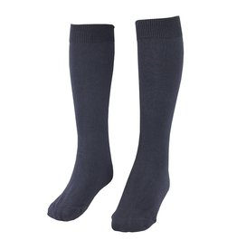 School Apparel A+ Navy Blue Flat Knit Knee Sock #130