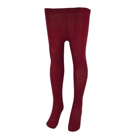 School Apparel A+ Lipstick Red Cotton Tights #535