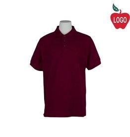 Universal Wine Short Sleeve Pique Polo #U838