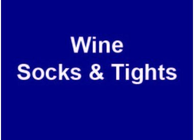 Wine Socks & Tights