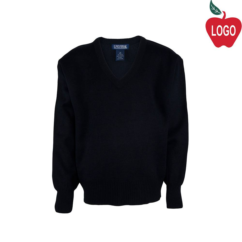 Universal Navy Blue Pullover Sweater #U8836 - Merry Mart Uniforms