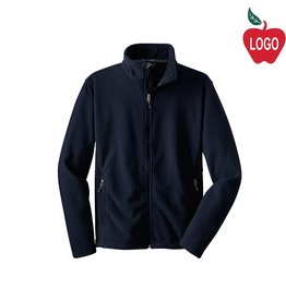 Port Authority Navy Blue Full Zip Fleece Jacket #217