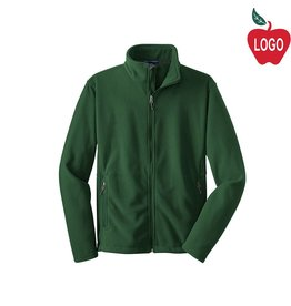 Port Authority Green Full Zip Fleece Jacket #217
