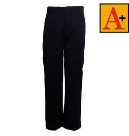 School Apparel A+ Navy Blue Pull-on Pants #7059Y