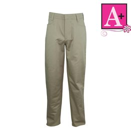 School Apparel A+ Khaki Mid-rise Pant #7540