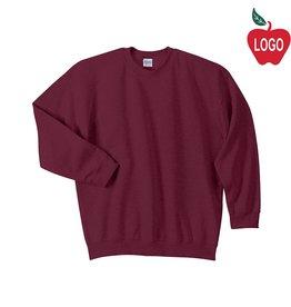 Gildan Wine Crew-neck Sweatshirt #18000