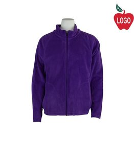 Team 365 Purple Full Zip Fleece Jacket #TT90