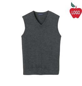 Port Authority Charcoal Grey Sweater Vest #SW286