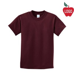 Port Authority Maroon Short Sleeve Tee