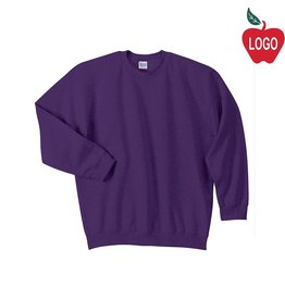Port Authority Purple Crew-neck Sweatshirt #PC90Y/18000