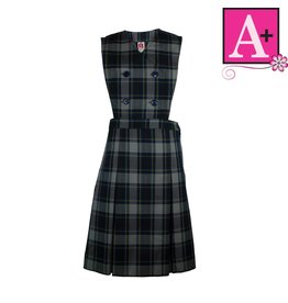 School Apparel A+ Daulton Plaid Jumper #1284PP