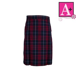 School Apparel A+ Hamilton Plaid 4-pleat Skirt #1034PP