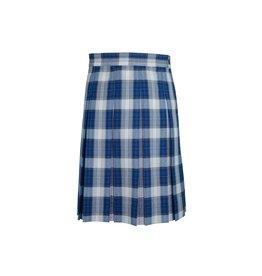 Dennis Uniform Taylor Plaid Box Pleat Skirt #1890
