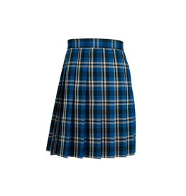 Dennis Uniform Rampart Plaid Knife Pleat Skirt #1886