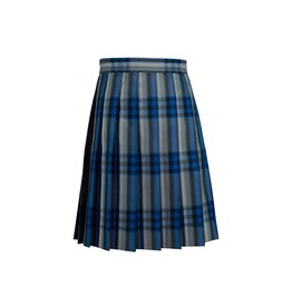 Dennis Uniform Windsor Plaid Knife Pleat Skirt #1886