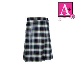 School Apparel A+ Manchester Plaid 4-pleat Skirt #1334PP