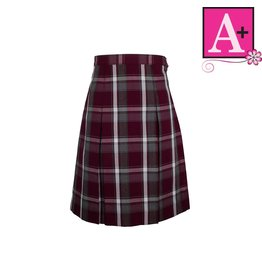 School Apparel A+ Rodrick Plaid 4-pleat Skirt #1034BP